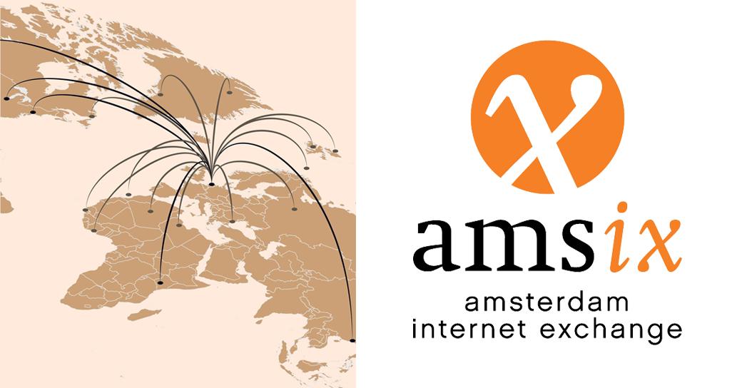 Eurafibre opérateur fibre optique peering Amsterdam AMS-IX