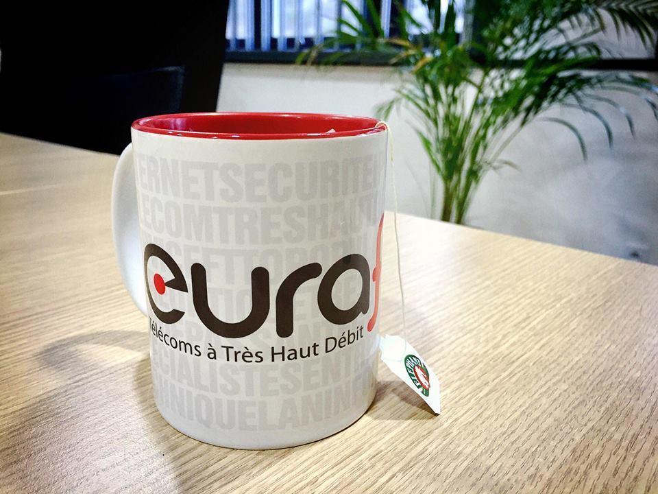 Mug Eurafibre opérateur fibre optique