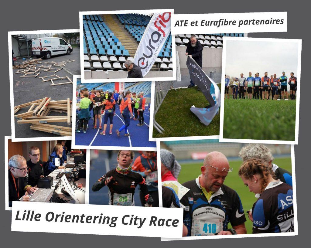 Opérateur fibre optique Lille orienting city race 2016 Eurafibre
