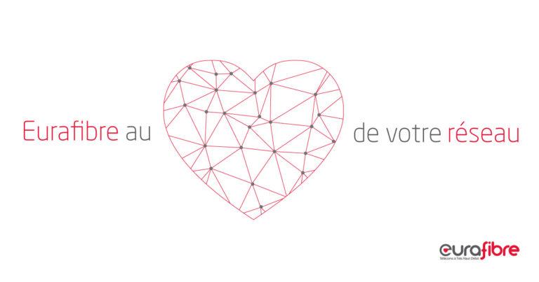 Saint Valentin réseau fibre optique eurafibre