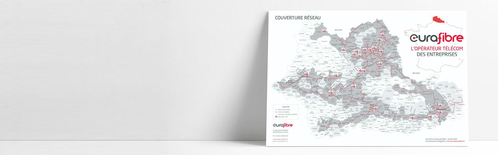 Slider réseau fibre optique Eurafibre nord France janvier 2020
