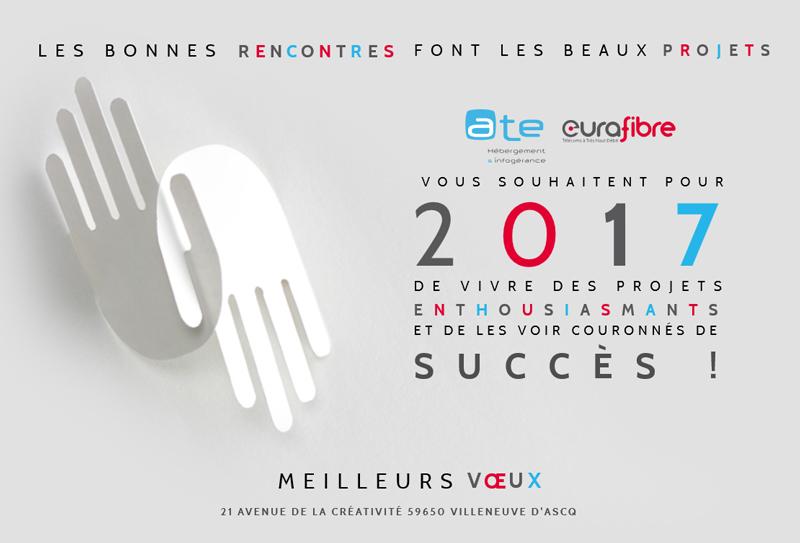 Voeux 2017 Eurafibre epérateur fibre optique France