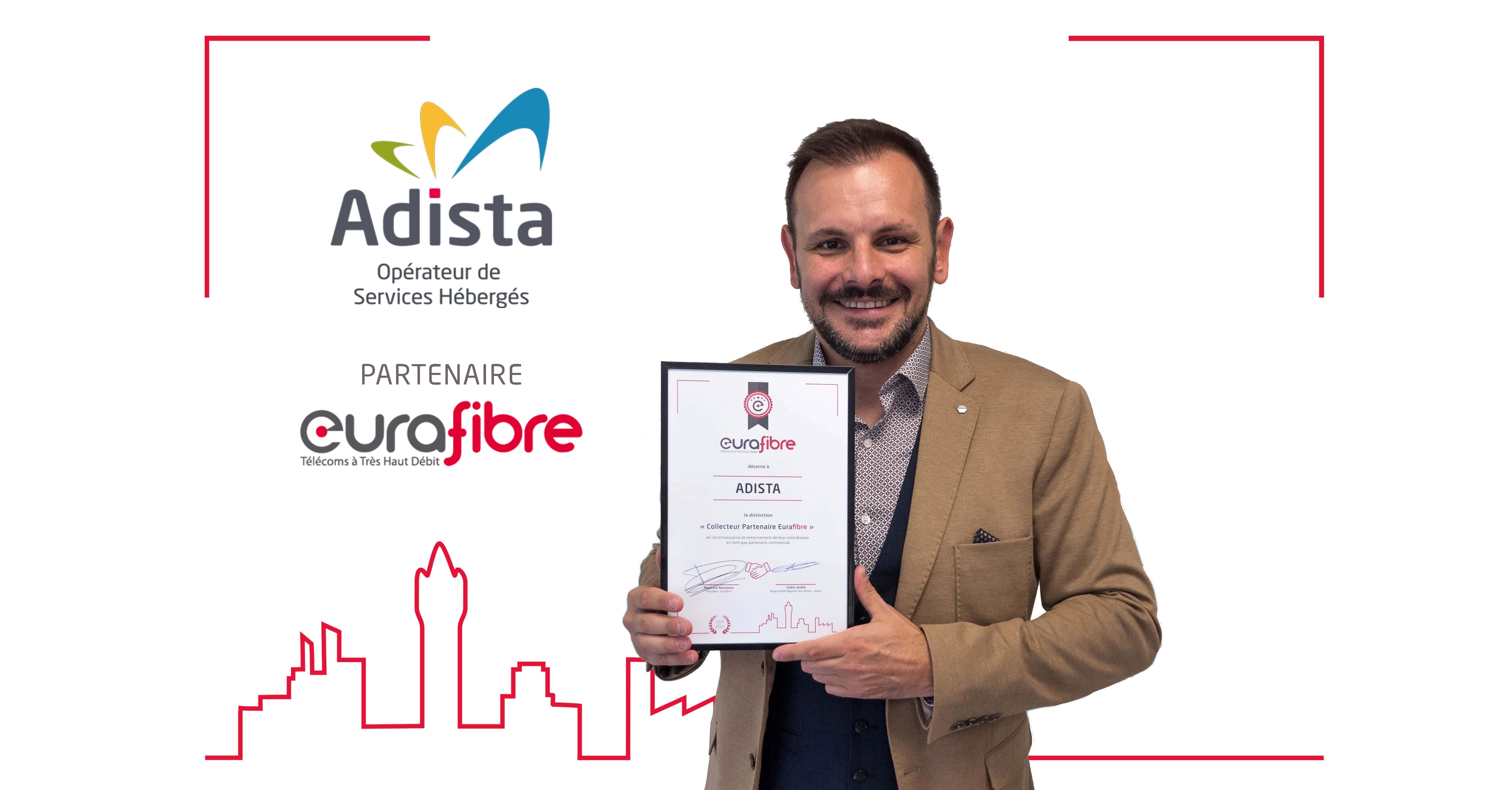 Cédric André Adista partenaire Eurafibre
