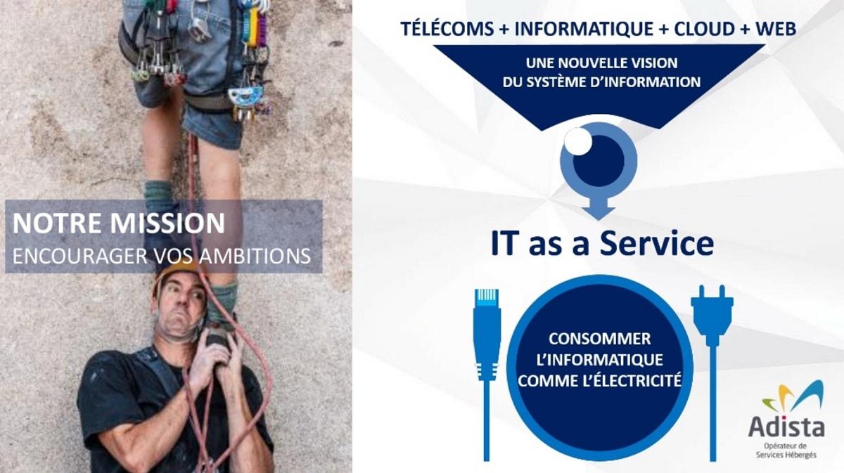 Télécoms informatique cloud web Adista