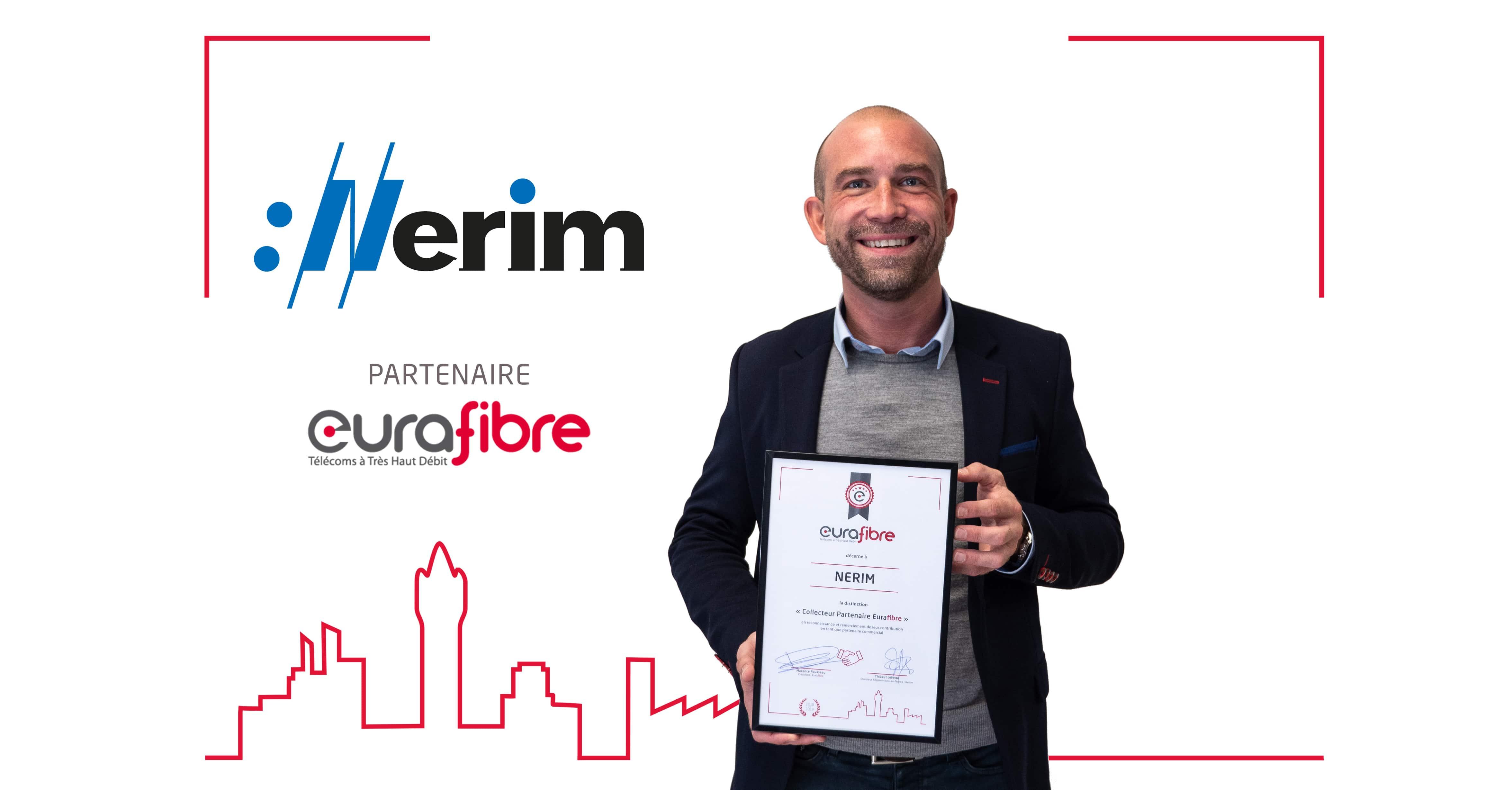 Thibaut Lefevre Nerim partenaire Eurafibre