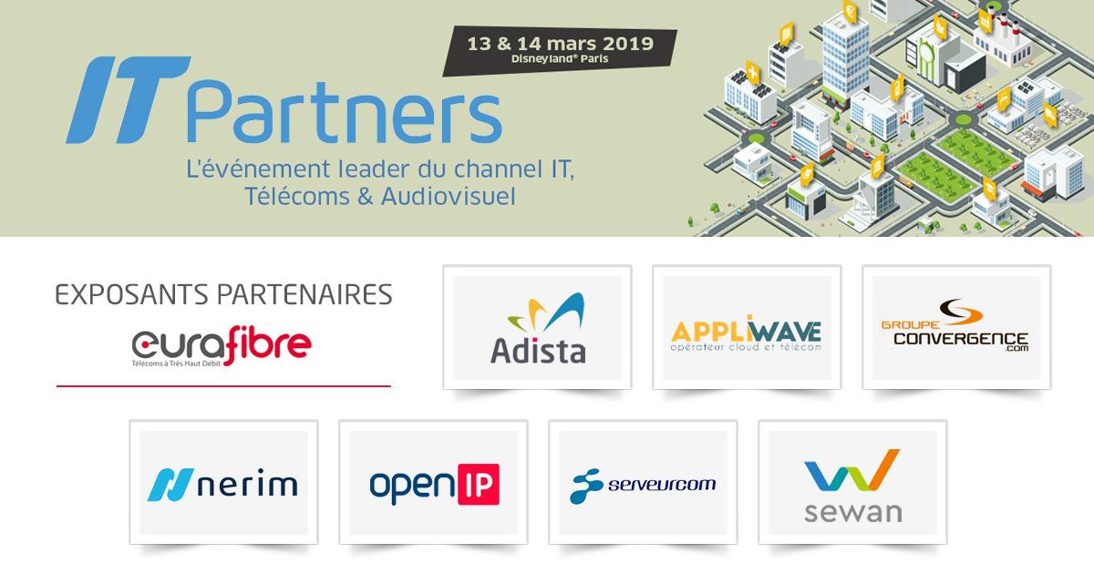 Eurafibre partenaires opérateurs IT Partners 2019