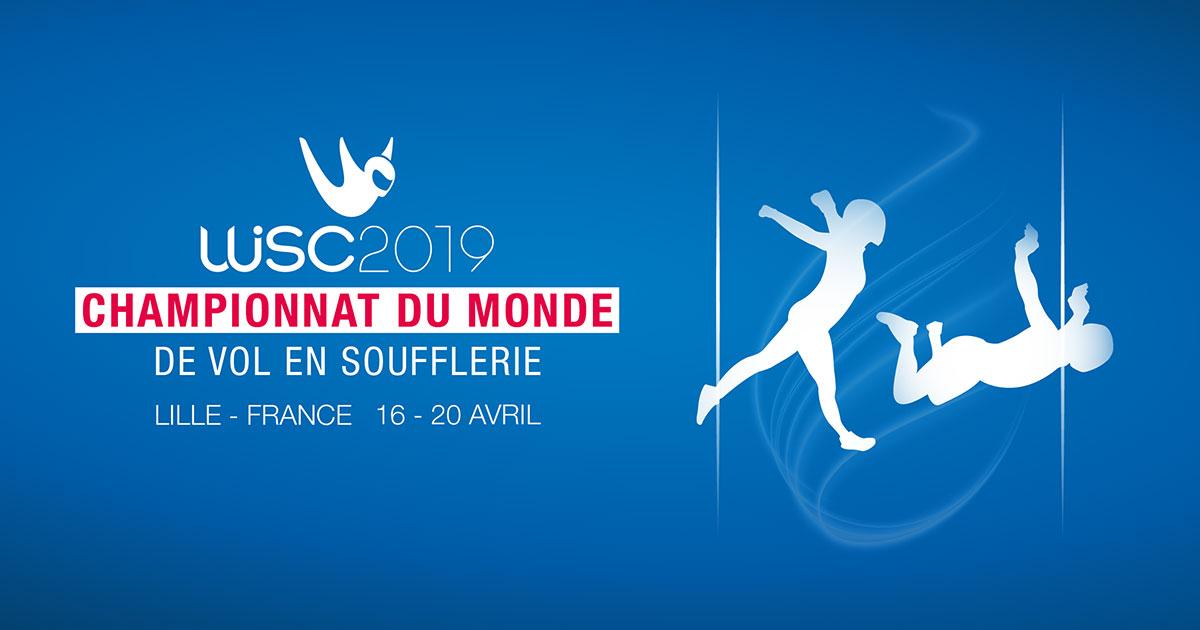 Championnat du monde 2019 de vol en soufflerie Weembi fibre optique Eurafibre