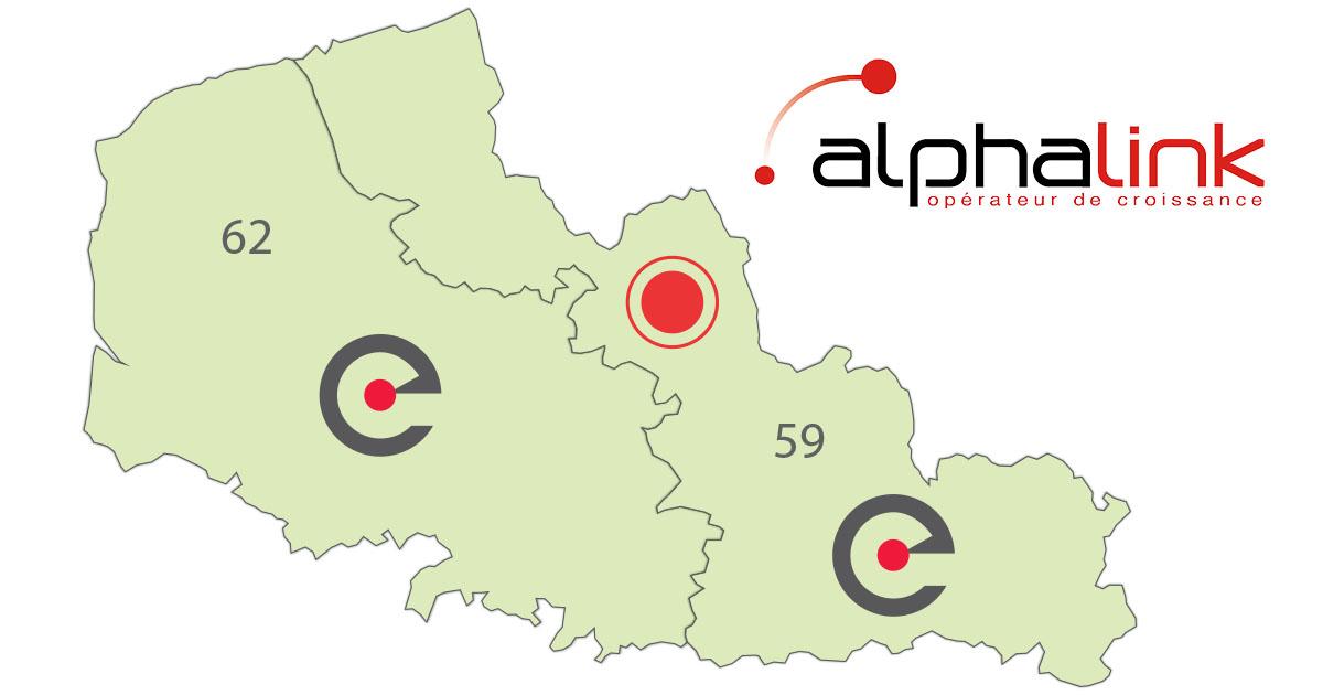 Alphalink Lille partenaire Eurafibre fibre optique Nord-Pas-de-Calais