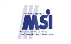 MSI Nord partenaire opérateur fibre optique Eurafibre