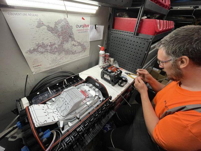 Eurafibre, opérateur fibre optique à Sainghin-en-Mélantois (Hauts-de-France)