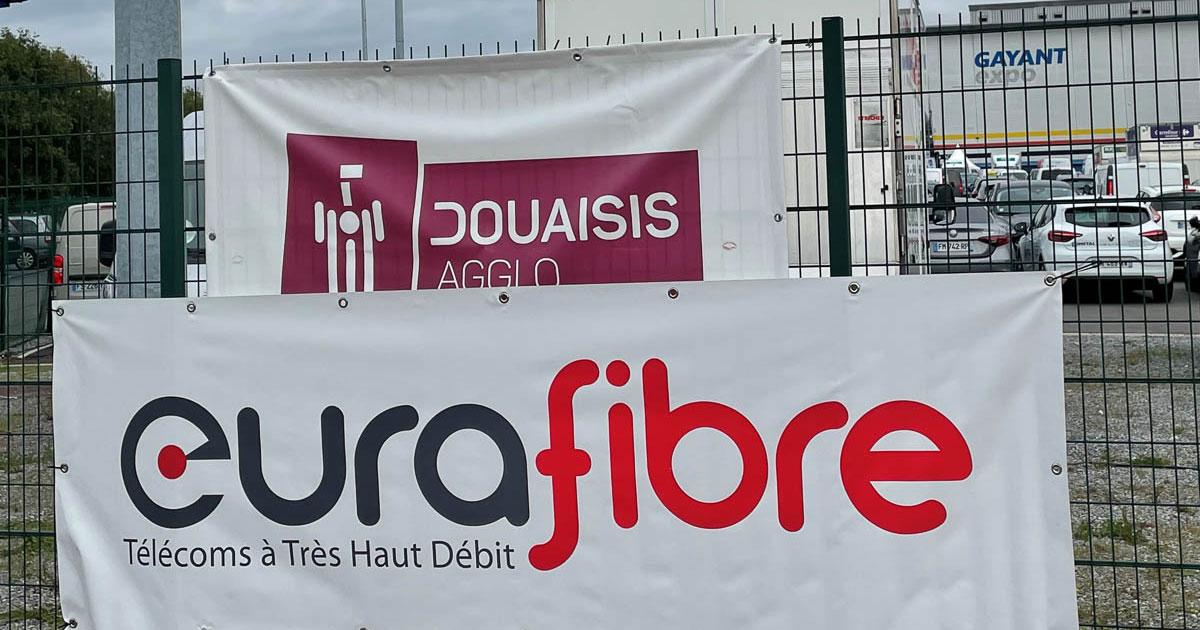 Eurafibre partenaire télécoms SEPEM Gayant Expo Douai